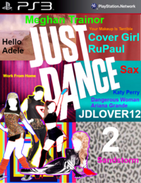 Just Dance JDLOVER12 2 PS3 Game Cover
