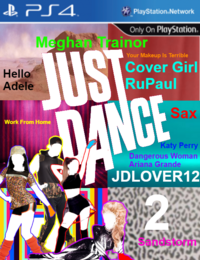 Just Dance JDLOVER12 2 PS4 Game Cover