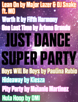Just Dance Super Party Cover