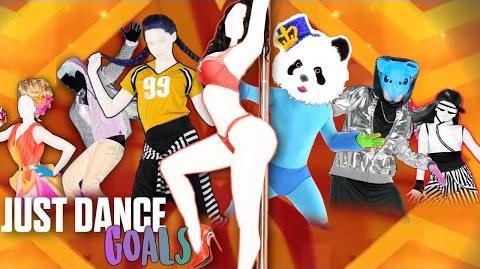 "Just Dance Goals - ""Deepthroat"" by cupcakKe Official Mash-Up Gameplay US"