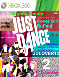 Just Dance JDLOVER12 2 Xbox360 Game Cover