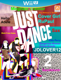 Just Dance JDLOVER12 2 WiiU Game Cover