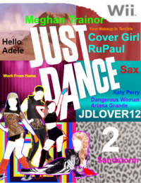 Just Dance JDLOVER12 2 Wii Game Cover