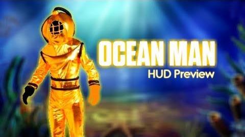 Ocean Man by Ween - Ultimate Just Dance HUD Preview