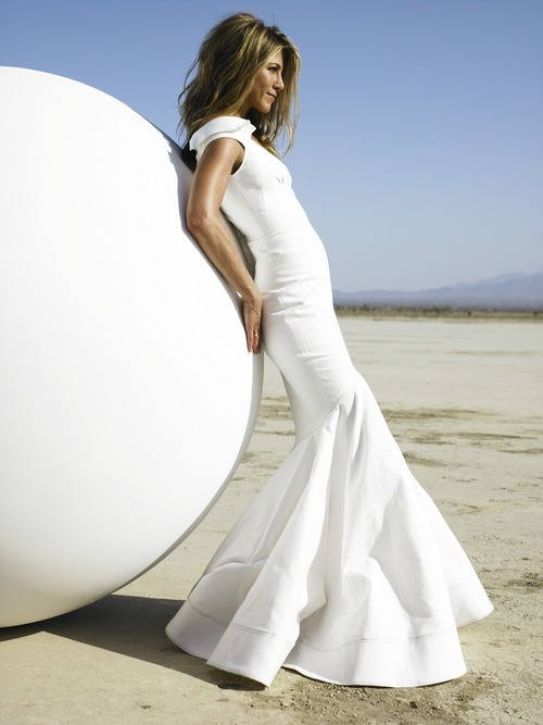 Image - Jennifer-aniston-wedding-dress-2013.jpg | Just Go With It ...