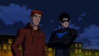 Kid Flash e Asa Noturna