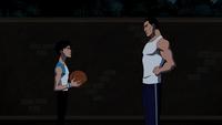 Bruce e Robin no Basketball