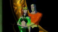 Rei Orin e Rainha Mera