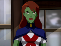 Miss Martian first human form