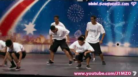 Australia's Got Talent - Justice Dance Crew