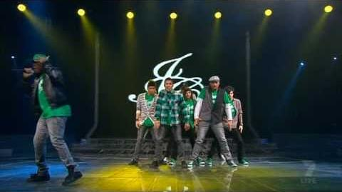 JUSTICE CREW ~ 'And Then We Dance' ~ LIVE!