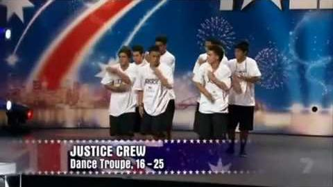 Justice Crew - Australia's Got Talent Audition.