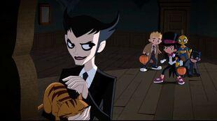 Klarion bewitches the Juvenile League.