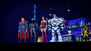 Toyman controls the Justice League.