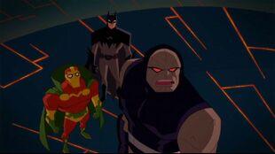 Batman reunites Mister Miracle with the not-so-happy Big Barda.