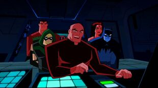 Luthor plans red-on-blue casualties for the Justice League.