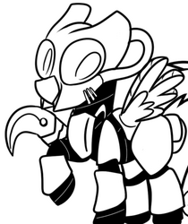 FANMADE Pony in advaced power armor