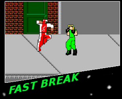 Fastbreak game