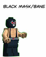 TKOG Movie Comic Black Mask - Bane