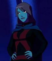 Señorita Marciana traje negro