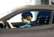 Justin drives a Ferrari F430 in Miami FL, 2010