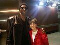 Kobe Bryant and Justin Bieber