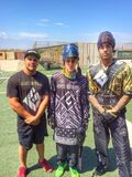Justin Bieber paintballing 2014