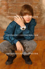 Justin May 2009 photoshoot