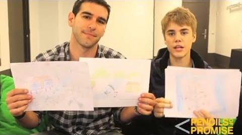 Justin Bieber school visit countdown - Pencils of Promise & Schools4all