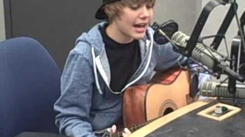 "Justin Bieber ""One Time"" acoustic"