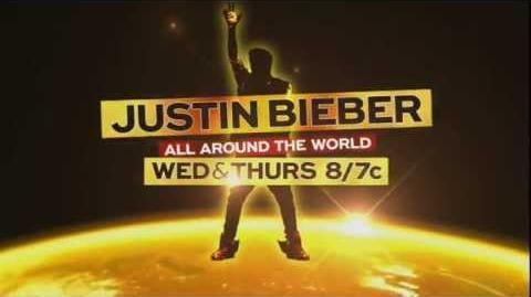 Justin Bieber: All Around the World