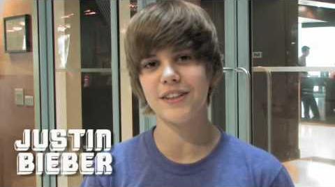 Justin Visits London