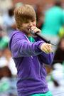Justin Bieber at Arthur Ashe Kids' Day 2009