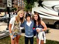 Justin Bieber meets fans at Red, White & Boom Columbus