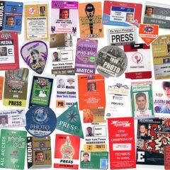 Robert Caplin's press credentials