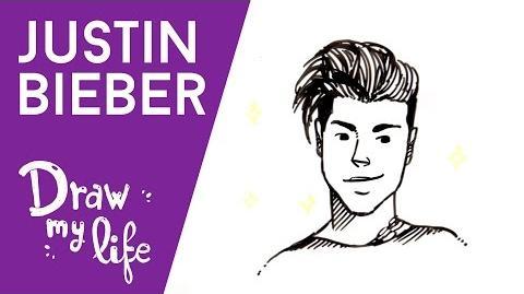 Justin Bieber - Draw My Life (Español)