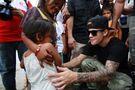 Bieber in Tacloban City