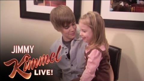 Jimmy Surprises Bieber Fan