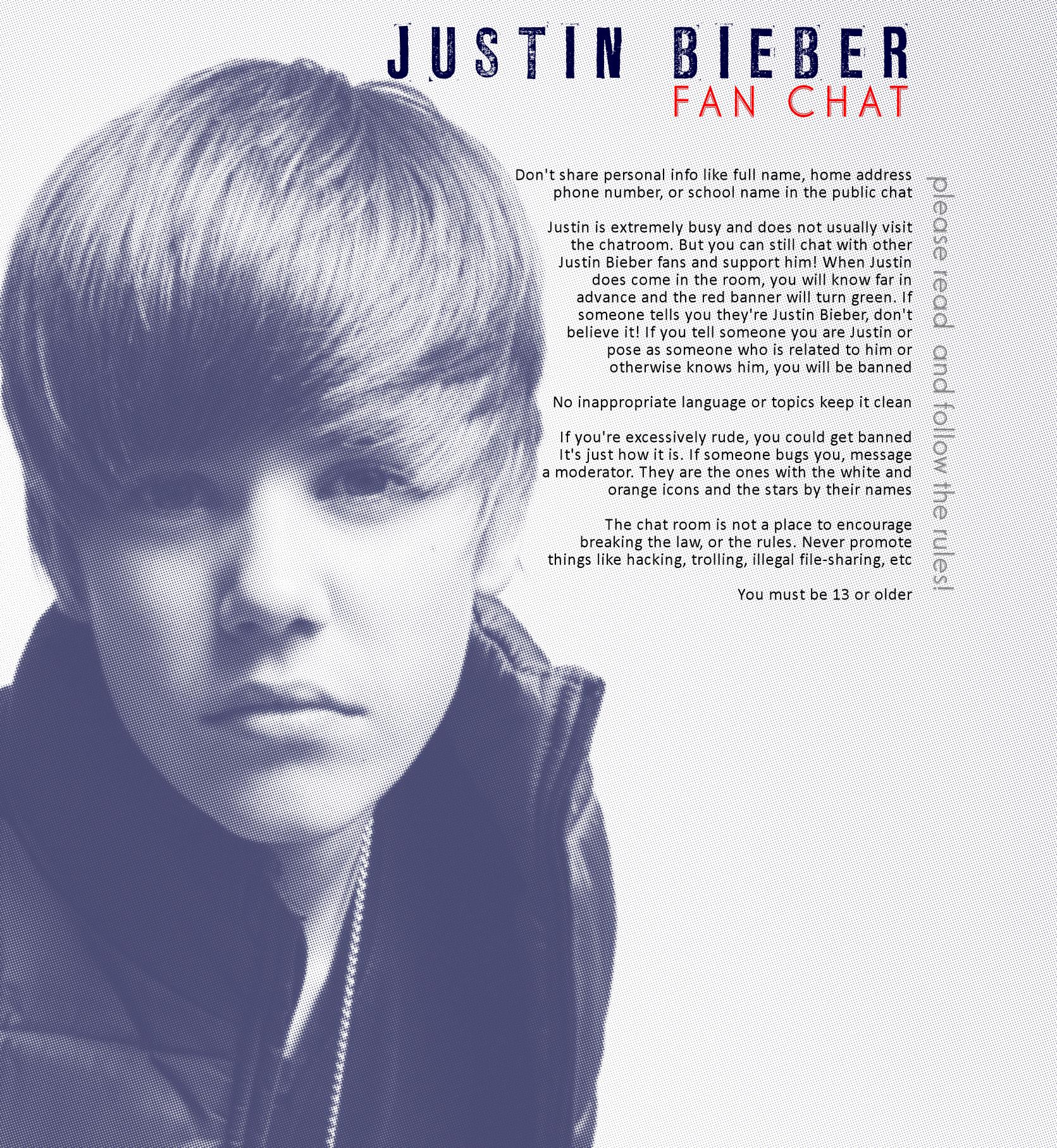 Image - Justin Bieber Fan Chat.jpg | Justin Bieber Wiki | FANDOM ...