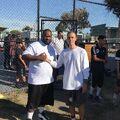Justin Bieber with a fan in LA November 2018