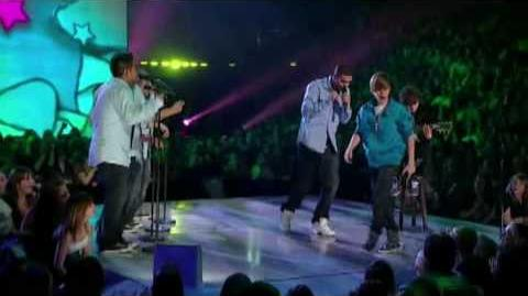 Justin Bieber and Drake at Juno Awards 2010 HD (Live)