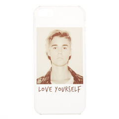Justin Bieber Love Yourself Phone Case<br /><br />If you are a huge Belieber then you need this Justin Bieber love yourself phone case! It features an image of Justin Bieber himself with the title of his hit song 'Love Yourself' across the front. The phone case is compatible with iPhone 5/5S/SE.