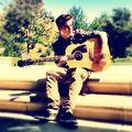 Justin Bieber September 2012 guitar