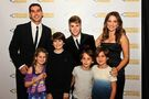 Justin Bieber and Adam Braun at PoP Gala