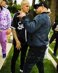 Justin Bieber and Eif Rivera