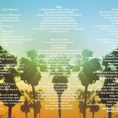 Page 3, with the track names, writers, and producers.