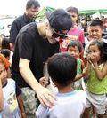 Bieber in Tacloban City 2013