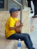 Justin Bieber performs at Avon Theatre on August 20, 2007 in Stratford