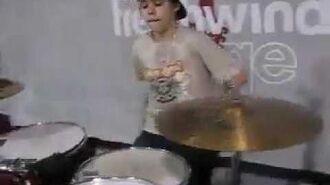 Justin Drumming at Freshwind 2008