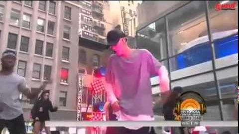Justin Bieber - As long as you love me (Live on Today Show 2015)